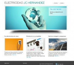 Electrician Web Site