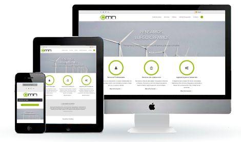 Diseño Web Responsive para Empresa de Servicios.