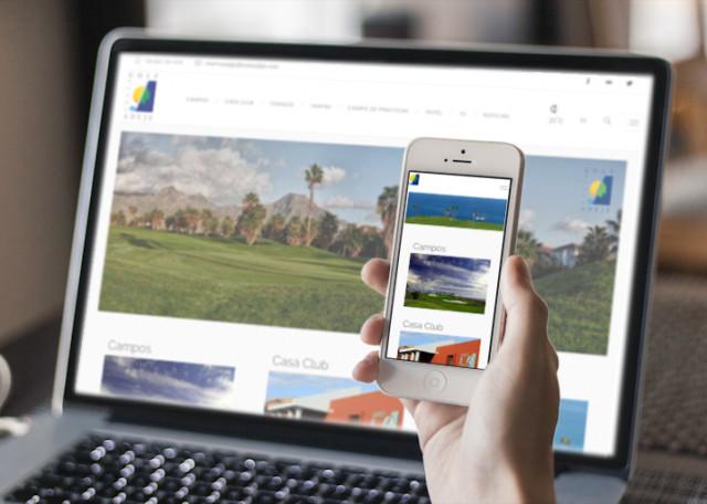 Diseño Web Tenerife - Campo de Golf
