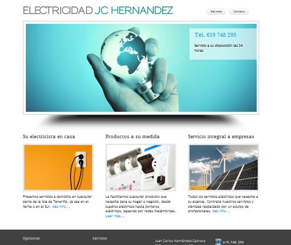 Electrician Web Site